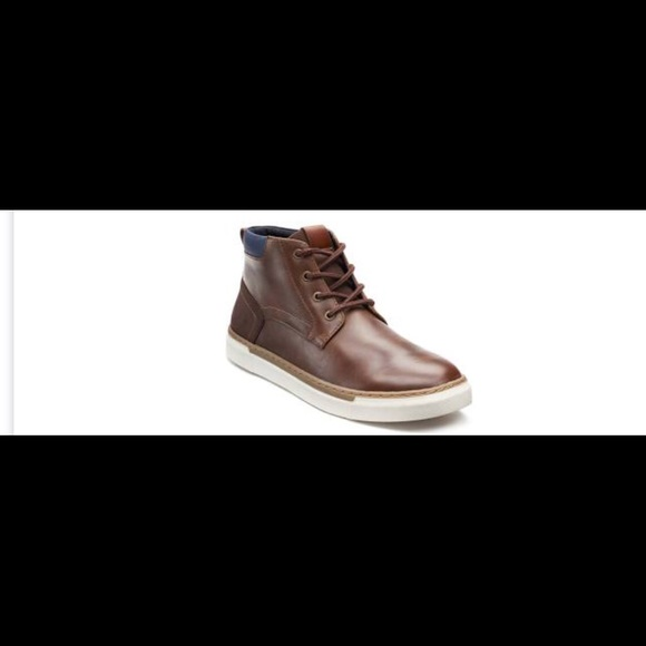 66b6ede65fa Sonoma men's Forrest Cognac ankle boot 12 NWT